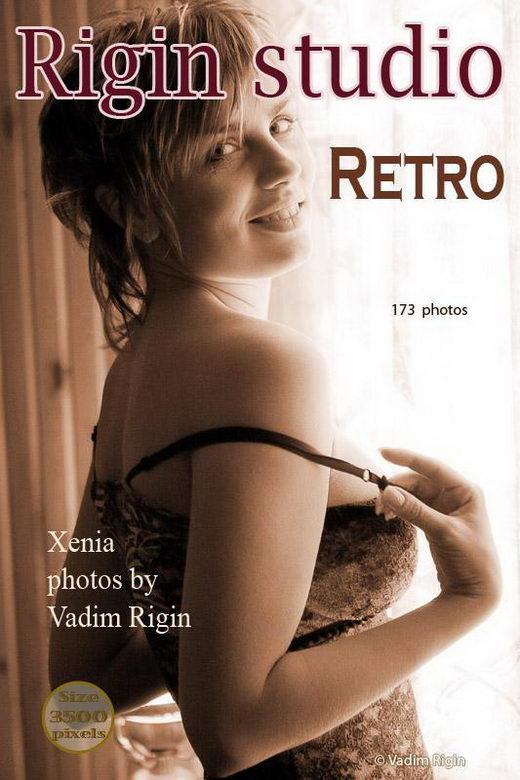 Xenia - `Retro` - by Vadim Rigin for RIGIN-STUDIO