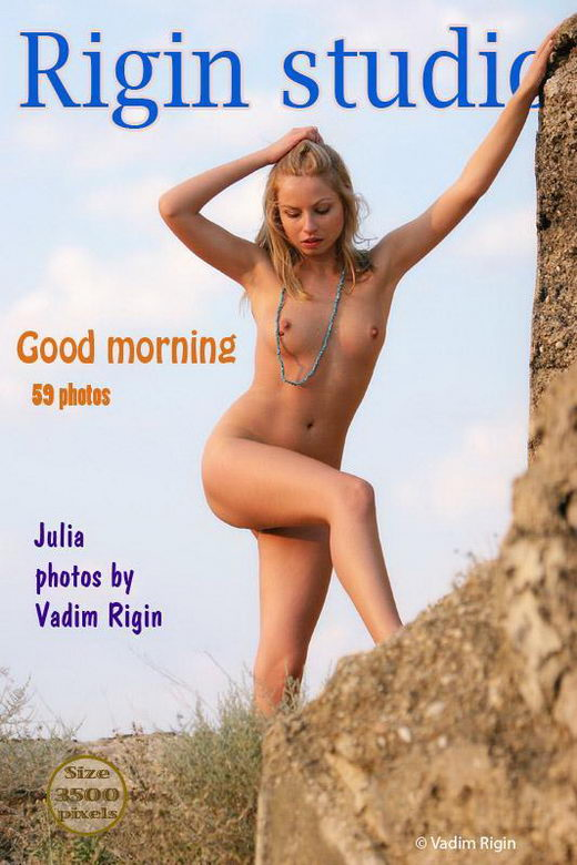 Julia - `Good Morning` - by Vadim Rigin for RIGIN-STUDIO