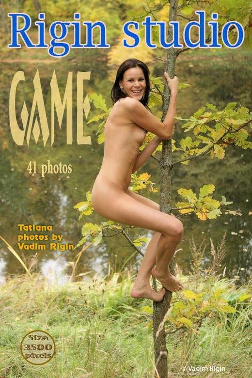 Tatiana - `Game` - by Vadim Rigin for RIGIN-STUDIO