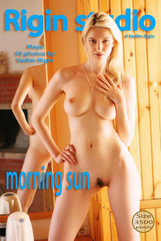 Maya - `Morning sun` - by Vadim Rigin for RIGIN-STUDIO