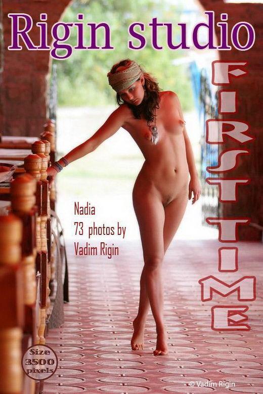 Nadia - `First Time` - by Vadim Rigin for RIGIN-STUDIO