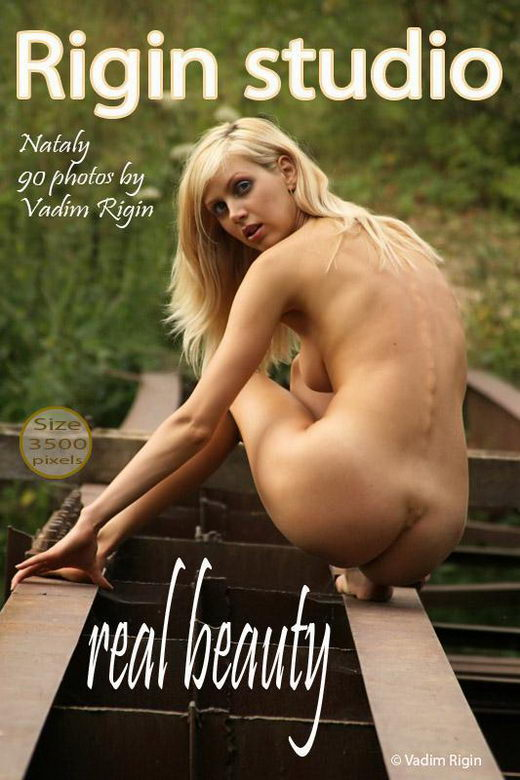Nataly - `Real Beauty` - by Vadim Rigin for RIGIN-STUDIO