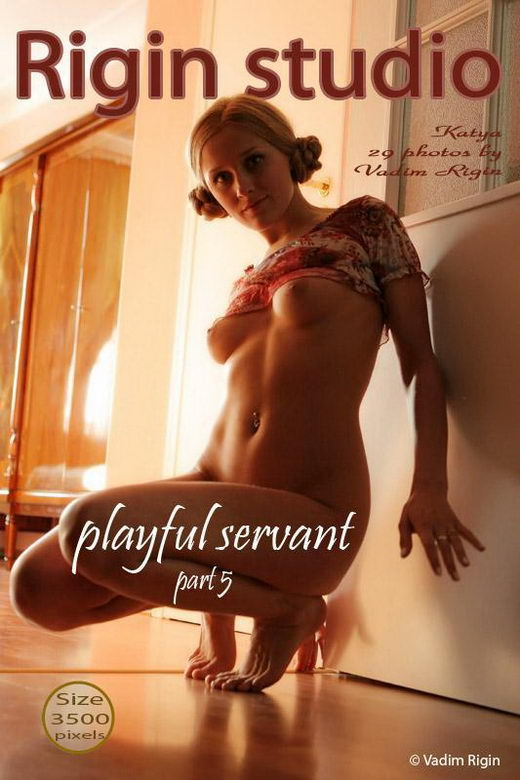 Katya - `Playful Servant` - by Vadim Rigin for RIGIN-STUDIO
