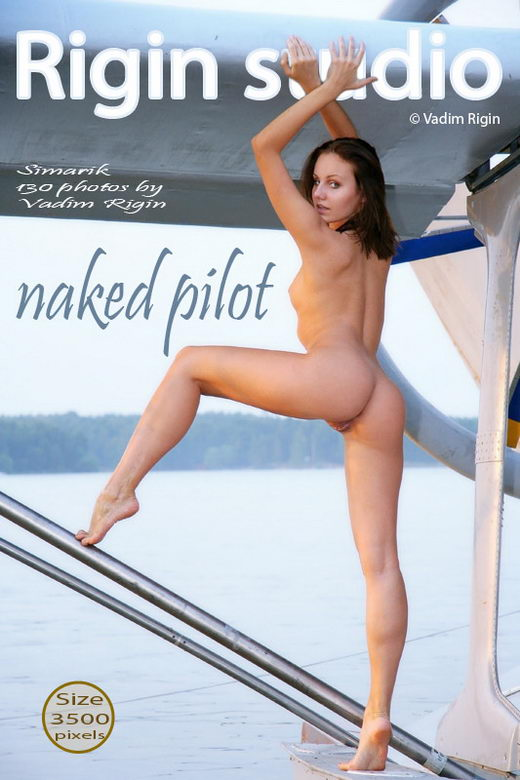 Simarik - `Naked Pilot` - by Vadim Rigin for RIGIN-STUDIO