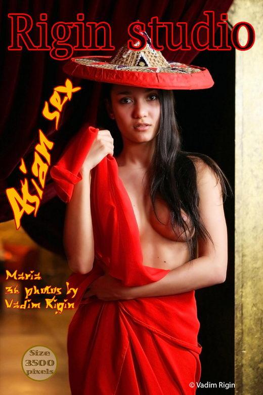 Maria - `Asian Sex` - by Vadim Rigin for RIGIN-STUDIO