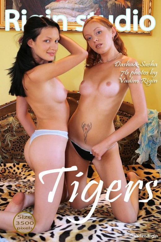 Dasha & Sasha - `Tigers` - by Vadim Rigin for RIGIN-STUDIO