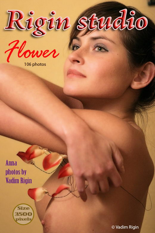Anna - `Flower` - by Vadim Rigin for RIGIN-STUDIO