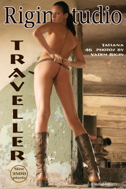 Tatiana - `Traveller` - by Vadim Rigin for RIGIN-STUDIO