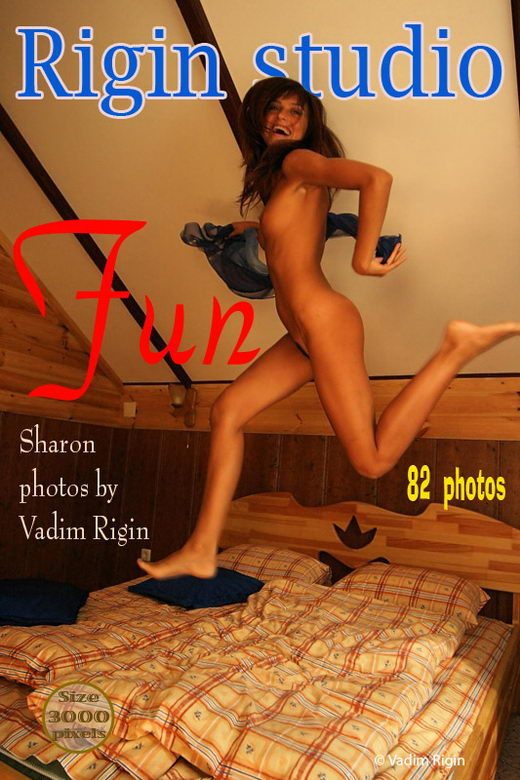 Sharon - `Fun` - by Vadim Rigin for RIGIN-STUDIO