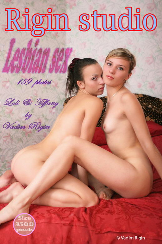 Lolli & Tiffany - `Lesbian Sex` - by Vadim Rigin for RIGIN-STUDIO
