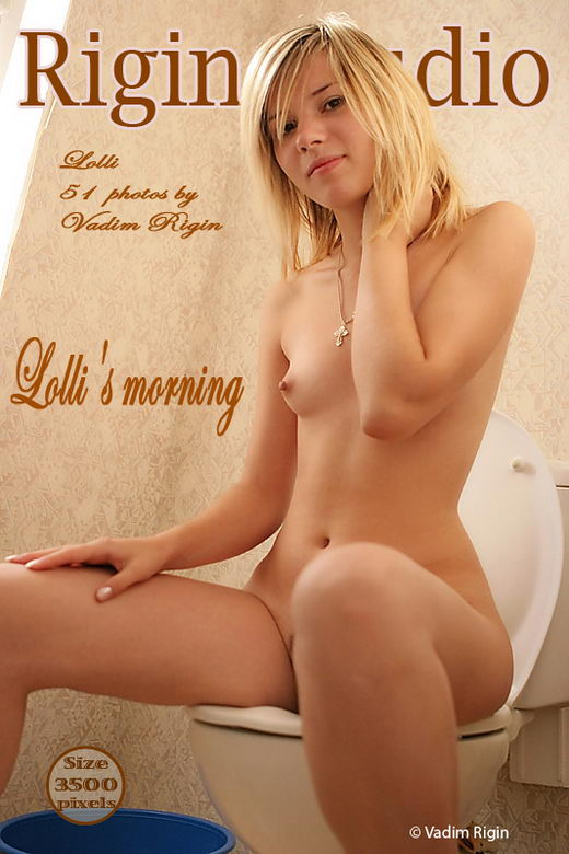 Lolli - `Lolli's Morning` - by Vadim Rigin for RIGIN-STUDIO