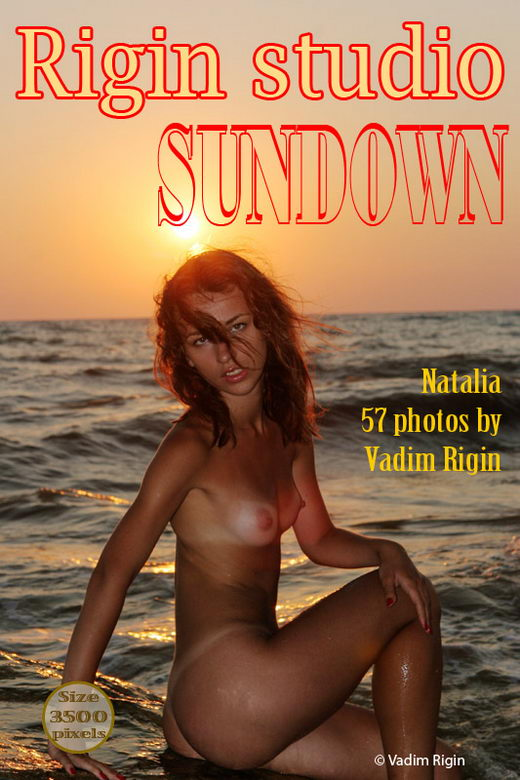 Natalia - `Sundown` - by Vadim Rigin for RIGIN-STUDIO