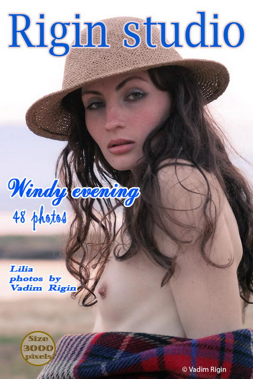 Lilia - `Windy Evening` - by Vadim Rigin for RIGIN-STUDIO
