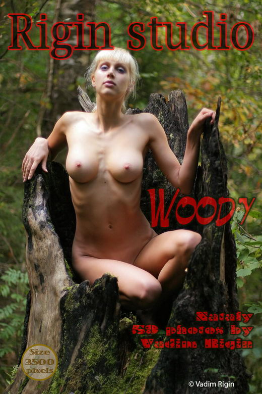 Nataly - `Woody` - by Vadim Rigin for RIGIN-STUDIO