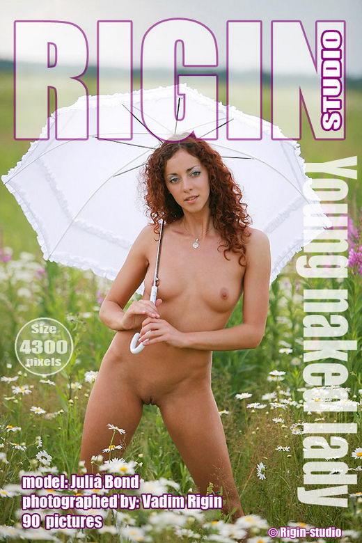 Julia Bond - `Young Naked Lady` - by Vadim Rigin for RIGIN-STUDIO