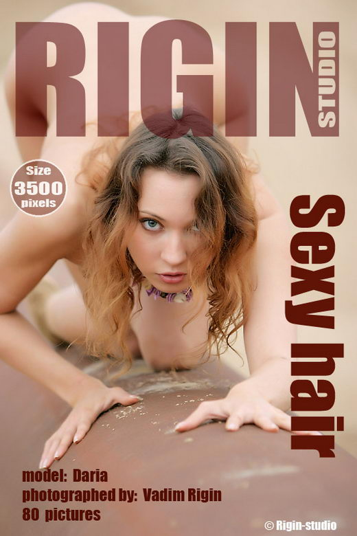 Daria - `Sexy Hair` - by Vadim Rigin for RIGIN-STUDIO