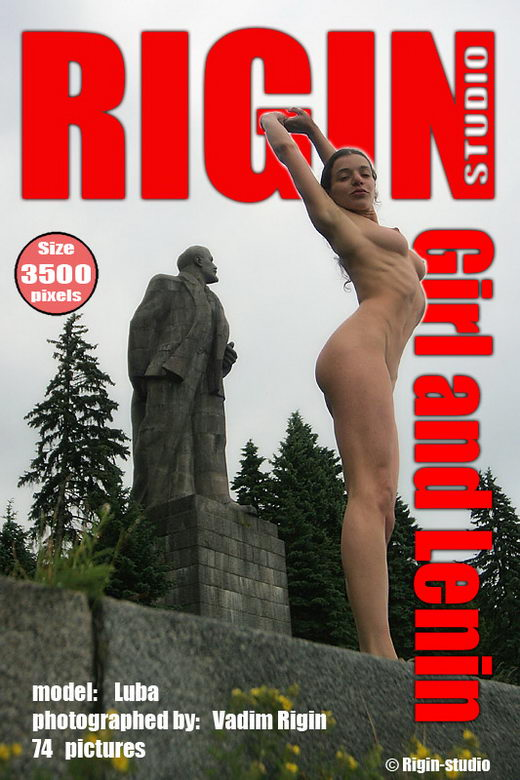 Luba - `Girl and Lenin` - by Vadim Rigin for RIGIN-STUDIO