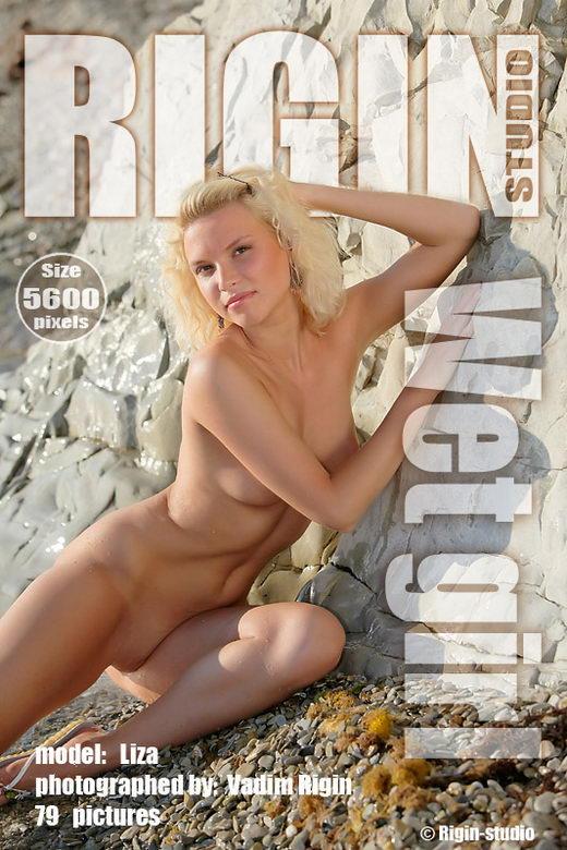 Liza - `Wet Girl` - by Vadim Rigin for RIGIN-STUDIO