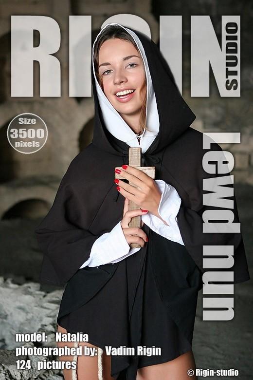 Natalia - `Lewd Nun` - by Vadim Rigin for RIGIN-STUDIO