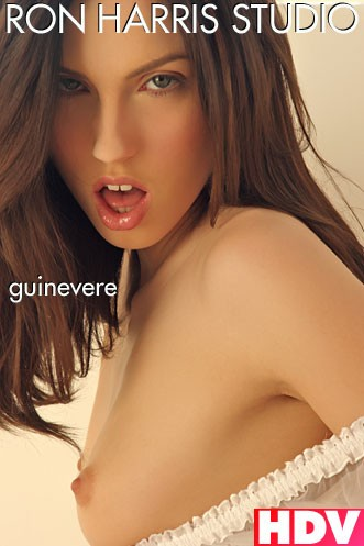 Guinevere - `White Lingerie` - by Ron Harris for RON HARRIS (ARCHIVE)