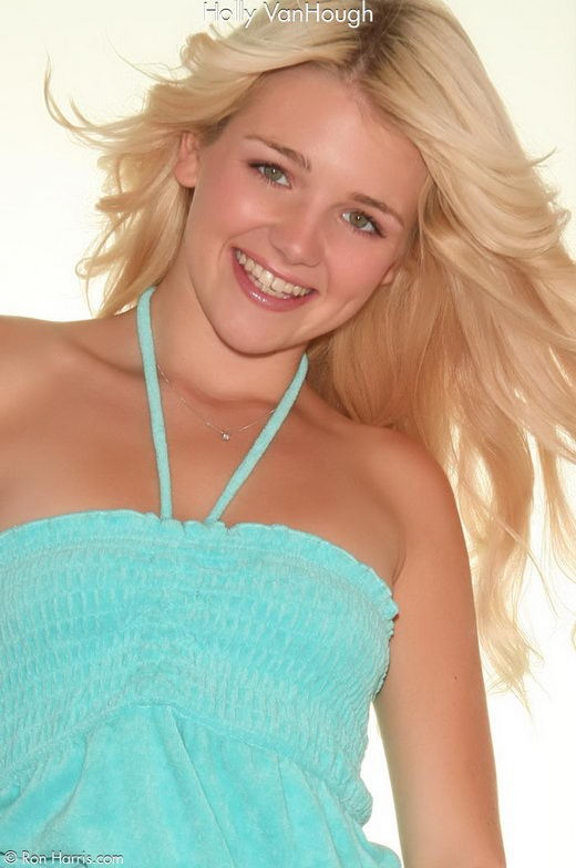 Holly VanHough - `Blue` - by Ron Harris for RON HARRIS (ARCHIVE)