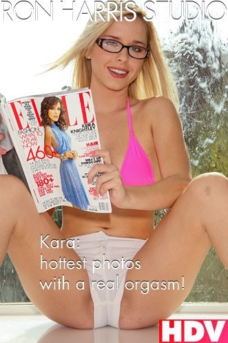 Kara Duhe - `Hottest  Photos with a Real Orgasm` - by Ron Harris for RON HARRIS (ARCHIVE)