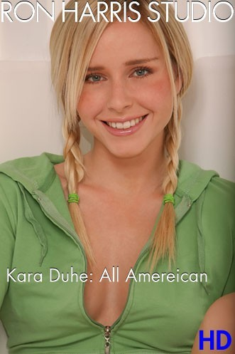 Kara Duhe - `All American` - by Ron Harris for RON HARRIS (ARCHIVE)