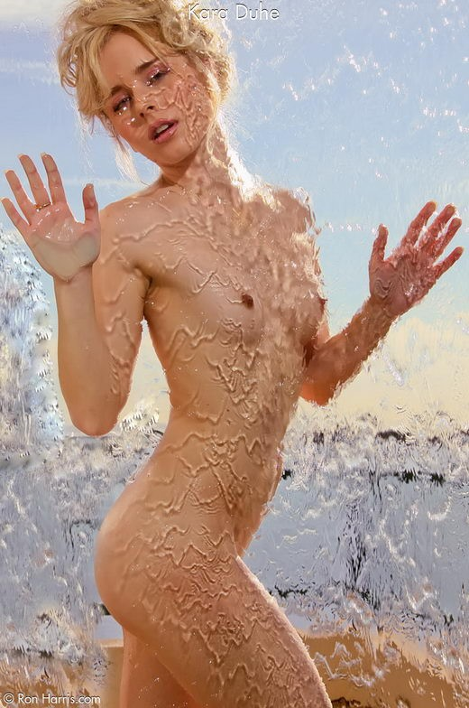 Kara Duhe - `Water` - by Ron Harris for RON HARRIS (ARCHIVE)
