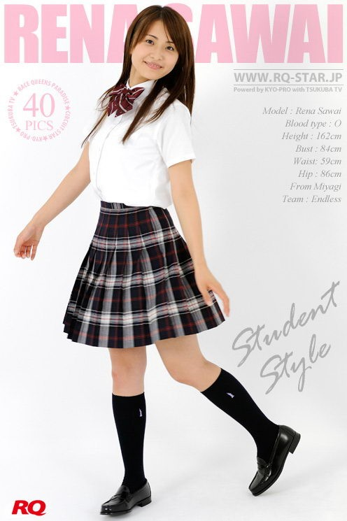 Rena Sawai - `Student Style` - for RQ-STAR