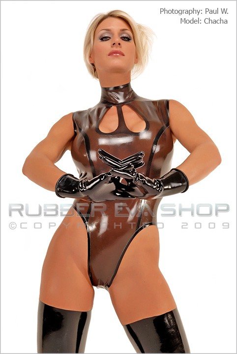 Chacha - `Heavy Weight Rubber Gloves` - by Paul W for RUBBEREVA