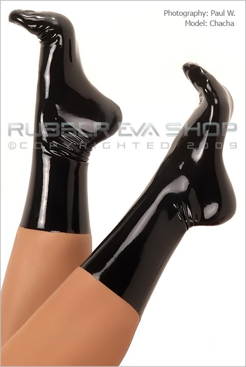 Chacha - `Rubber Socks` - by Paul W for RUBBEREVA