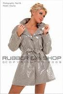 Deluxe Houndstooth Plastic Coat