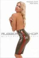 Rubber Military Skirt