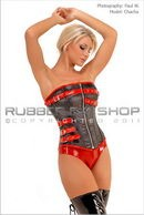 Strappy Leather Overbust Corset