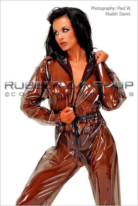 Danni - `Breathplay Suit` - by Paul W for RUBBEREVA