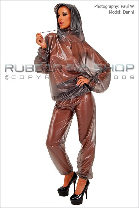 Danni - `Breathplay Tracksuit` - by Paul W for RUBBEREVA