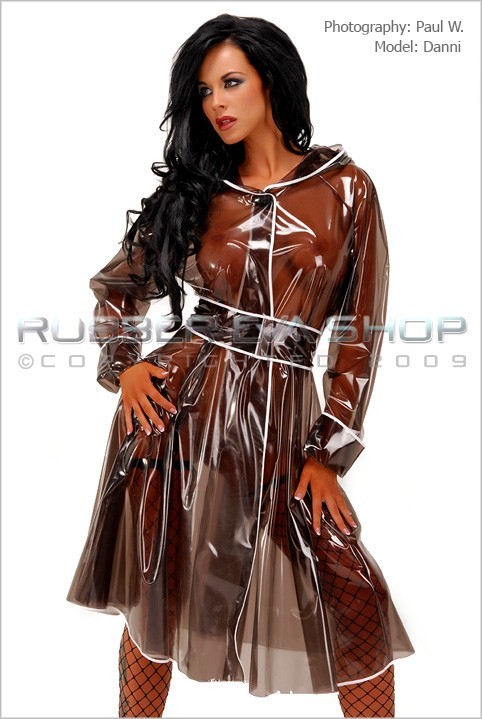 Danni - `Vintage Raincoat` - by Paul W for RUBBEREVA