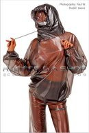 Danni in Breathplay Hooded Top gallery from RUBBEREVA by Paul W