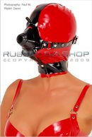 Rubber Anesthesia Hood With Harness