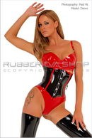 Rubber D Ring Corset