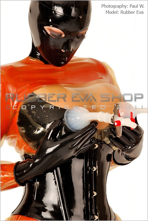 Rubber Eva - `Deluxe Silicone Suction Cup Set` - by Paul W for RUBBEREVA