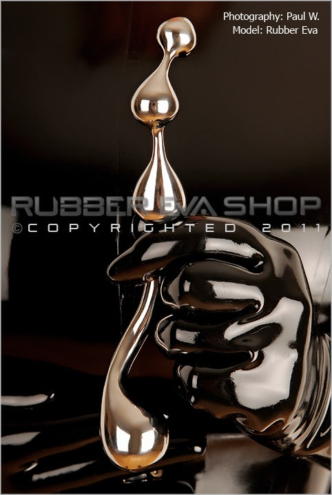 Rubber Eva - `Double Ended Anal Bulbous Probe` - by Paul W for RUBBEREVA