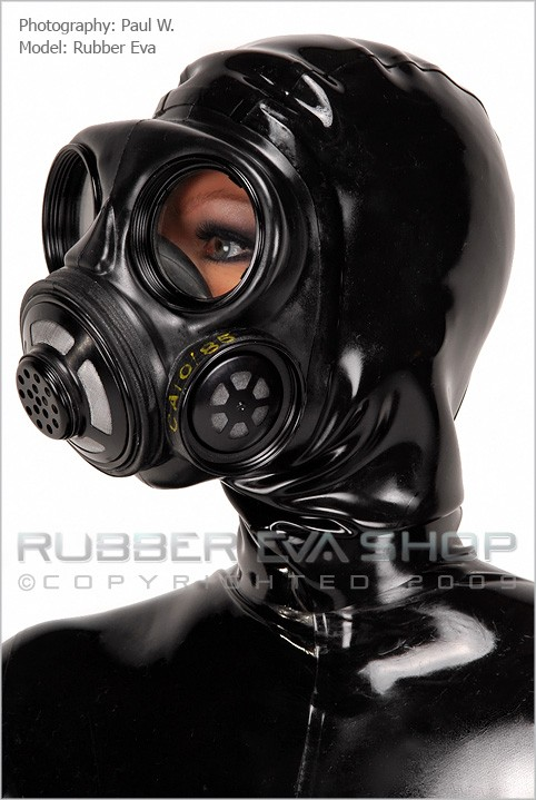 Rubber Eva - `Hooded Danish Gasmask` - by Paul W for RUBBEREVA