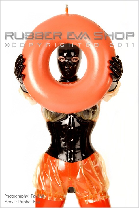 Rubber Eva - `Inflatable Rubber Ring` - by Paul W for RUBBEREVA
