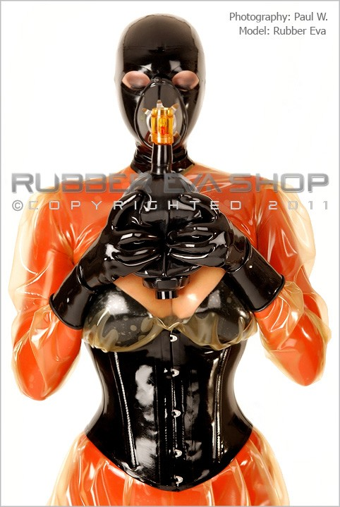 Rubber Eva - `Latex Anesthesia Respirator With Bag` - by Paul W for RUBBEREVA