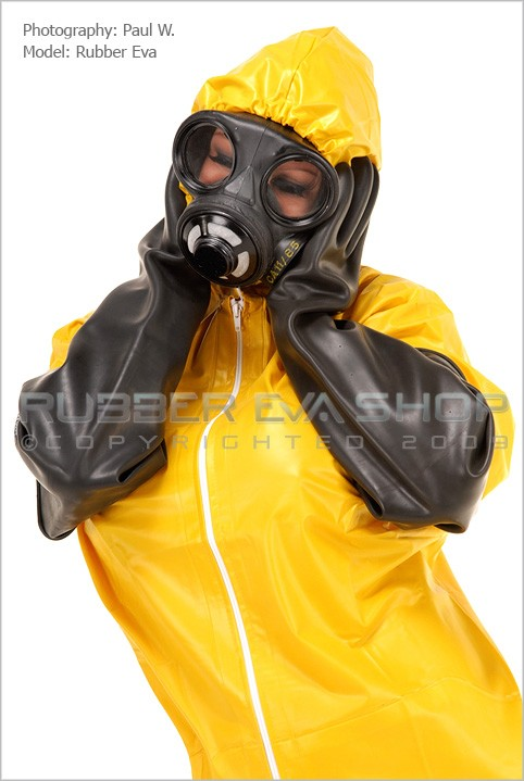 Rubber Eva - `Plastic Hazmat Set` - by Paul W for RUBBEREVA