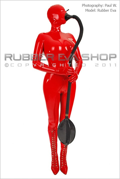 Rubber Eva - `Rubber Tube and Re-Breather Bag` - by Paul W for RUBBEREVA