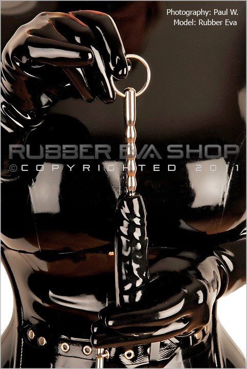 Rubber Eva - `Stainless Steel Pleasure Probe` - by Paul W for RUBBEREVA
