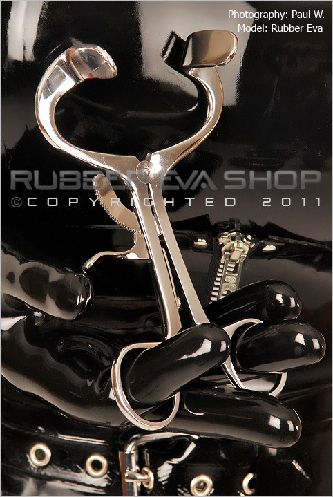 Rubber Eva - `Stainless Steel Ratchet Spreader` - by Paul W for RUBBEREVA