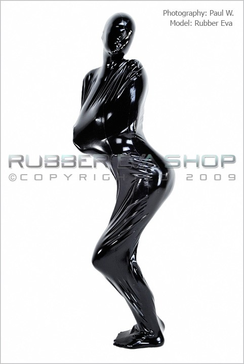 Rubber Eva - `Total Enclosure Body-Bag` - by Paul W for RUBBEREVA